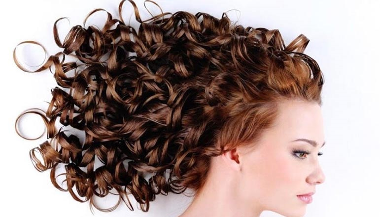 make thin hair curly